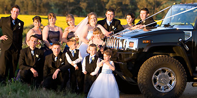 Wedding hummer hire sydney